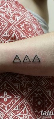 фото Значение тату три треугольника от 13.02.2018 №030 – three triangle tatto – tatufoto.com
