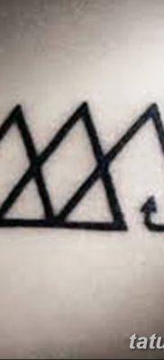 фото Значение тату три треугольника от 13.02.2018 №036 – three triangle tatto – tatufoto.com