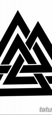 фото Значение тату три треугольника от 13.02.2018 №040 – three triangle tatto – tatufoto.com