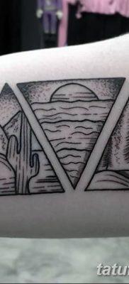 фото Значение тату три треугольника от 13.02.2018 №043 – three triangle tatto – tatufoto.com
