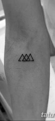 фото Значение тату три треугольника от 13.02.2018 №051 – three triangle tatto – tatufoto.com