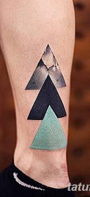фото Значение тату три треугольника от 13.02.2018 №052 – three triangle tatto – tatufoto.com