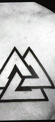 фото Значение тату три треугольника от 13.02.2018 №054 – three triangle tatto – tatufoto.com