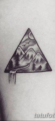 фото Значение тату три треугольника от 13.02.2018 №056 – three triangle tatto – tatufoto.com