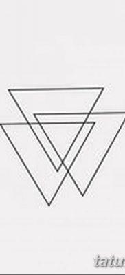 фото Значение тату три треугольника от 13.02.2018 №061 – three triangle tatto – tatufoto.com