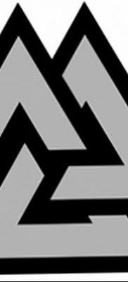 фото Значение тату три треугольника от 13.02.2018 №062 – three triangle tatto – tatufoto.com
