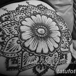 фото Мехенди на животе от 12.02.2018 №083 - Mehendi on the stomach - tatufoto.com
