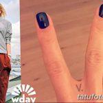 фото Тату Веры Брежневой от 09.02.2018 №005 - Tattoo of Vera Brezhneva - tatufoto.com