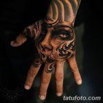 фото Тату в стиле Барокко от 09.02.2018 №001 - Baroque tattoo - tatufoto.com