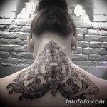 фото Тату в стиле Барокко от 09.02.2018 №004 - Baroque tattoo - tatufoto.com