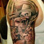 фото Тату в стиле Барокко от 09.02.2018 №005 - Baroque tattoo - tatufoto.com