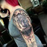 фото Тату в стиле Барокко от 09.02.2018 №009 - Baroque tattoo - tatufoto.com