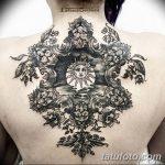 фото Тату в стиле Барокко от 09.02.2018 №010 - Baroque tattoo - tatufoto.com
