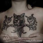 фото Тату в стиле Барокко от 09.02.2018 №017 - Baroque tattoo - tatufoto.com