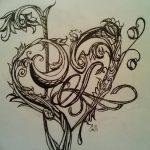 фото Тату в стиле Барокко от 09.02.2018 №018 - Baroque tattoo - tatufoto.com