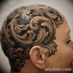 фото Тату в стиле Барокко от 09.02.2018 №019 - Baroque tattoo - tatufoto.com
