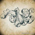 фото Тату в стиле Барокко от 09.02.2018 №022 - Baroque tattoo - tatufoto.com