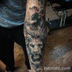 фото Тату в стиле Барокко от 09.02.2018 №023 - Baroque tattoo - tatufoto.com