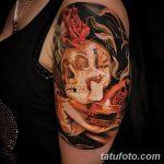 фото Тату в стиле Барокко от 09.02.2018 №026 - Baroque tattoo - tatufoto.com