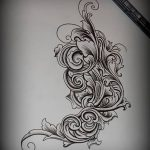 фото Тату в стиле Барокко от 09.02.2018 №031 - Baroque tattoo - tatufoto.com