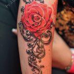 фото Тату в стиле Барокко от 09.02.2018 №033 - Baroque tattoo - tatufoto.com