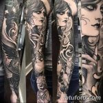 фото Тату в стиле Барокко от 09.02.2018 №034 - Baroque tattoo - tatufoto.com