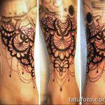 фото Тату в стиле Барокко от 09.02.2018 №035 - Baroque tattoo - tatufoto.com