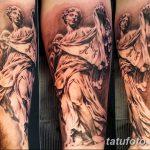 фото Тату в стиле Барокко от 09.02.2018 №036 - Baroque tattoo - tatufoto.com