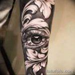 фото Тату в стиле Барокко от 09.02.2018 №037 - Baroque tattoo - tatufoto.com