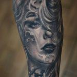 фото Тату в стиле Барокко от 09.02.2018 №042 - Baroque tattoo - tatufoto.com