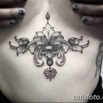 фото Тату в стиле Барокко от 09.02.2018 №048 - Baroque tattoo - tatufoto.com