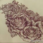 фото Тату в стиле Барокко от 09.02.2018 №049 - Baroque tattoo - tatufoto.com