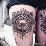 фото Тату в стиле Барокко от 09.02.2018 №058 - Baroque tattoo - tatufoto.com