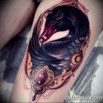фото Тату в стиле Барокко от 09.02.2018 №059 - Baroque tattoo - tatufoto.com