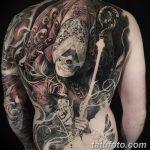 фото Тату в стиле Барокко от 09.02.2018 №061 - Baroque tattoo - tatufoto.com