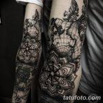 фото Тату в стиле Барокко от 09.02.2018 №062 - Baroque tattoo - tatufoto.com
