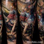 фото Тату в стиле Барокко от 09.02.2018 №063 - Baroque tattoo - tatufoto.com