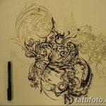 фото Тату в стиле Барокко от 09.02.2018 №064 - Baroque tattoo - tatufoto.com