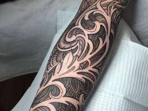 фото Тату в стиле Барокко от 09.02.2018 №067 - Baroque tattoo - tatufoto.com