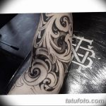 фото Тату в стиле Барокко от 09.02.2018 №068 - Baroque tattoo - tatufoto.com