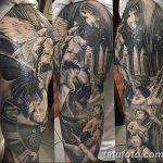 фото Тату в стиле Барокко от 09.02.2018 №069 - Baroque tattoo - tatufoto.com
