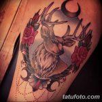 фото Тату в стиле Барокко от 09.02.2018 №071 - Baroque tattoo - tatufoto.com