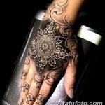 фото Тату в стиле Барокко от 09.02.2018 №074 - Baroque tattoo - tatufoto.com