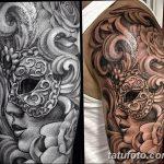 фото Тату в стиле Барокко от 09.02.2018 №076 - Baroque tattoo - tatufoto.com