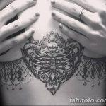 фото Тату в стиле Барокко от 09.02.2018 №081 - Baroque tattoo - tatufoto.com