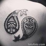 фото Тату в стиле Барокко от 09.02.2018 №083 - Baroque tattoo - tatufoto.com