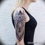 фото Тату в стиле Барокко от 09.02.2018 №084 - Baroque tattoo - tatufoto.com