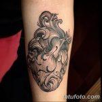 фото Тату в стиле Барокко от 09.02.2018 №086 - Baroque tattoo - tatufoto.com