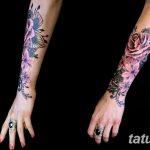 фото Тату в стиле Барокко от 09.02.2018 №087 - Baroque tattoo - tatufoto.com