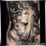 фото Тату в стиле Барокко от 09.02.2018 №088 - Baroque tattoo - tatufoto.com